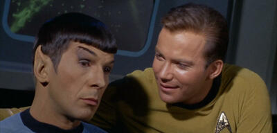 Star Trek: Leonard Nimoy und William Shatner