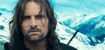 Der Herr der Ringe 1: Aragorn auf dem Pass von Caradhras