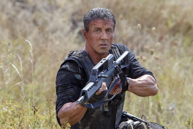 The Expendables 3 mit Sylvester Stallone
