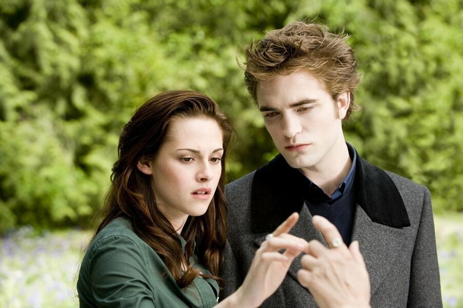 New Moon - Bis(s) zur Mittagsstunde mit Kristen Stewart und Robert Pattinson
