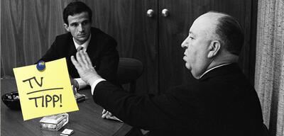 François Truffaut und Alfred Hitchcock