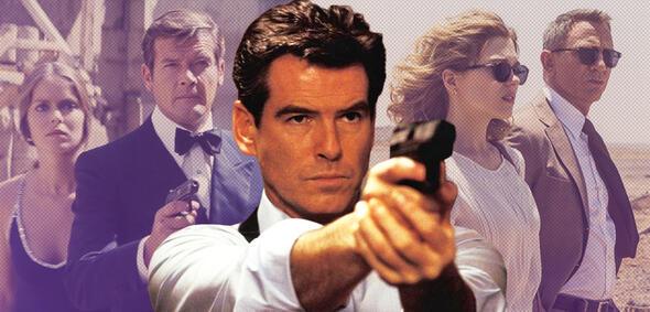Alle James Bond-Filme im Ranking