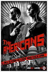 The Americans - Staffel 1 - Poster