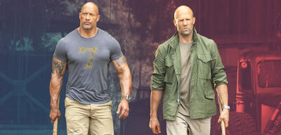 Dwayne Johnson und Jason Statham in Fast & Furious: Hobbs & Shaw