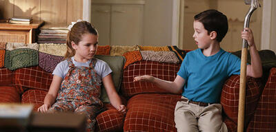 Young Sheldon mit Annie Potts