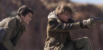 Bild zu:  Dylan O'Brien und Thomas Brodie-Sangster in Maze Runner 3
