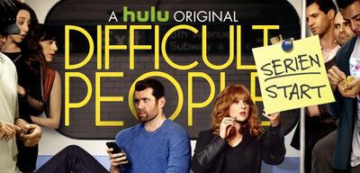 Heute startet die 2. Staffel von Difficult People auf Hulu
