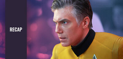 Star Trek: Discovery - Ein erstaunter Captain Pike