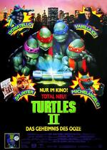 Turtles II - Das Geheimnis des Ooze Poster