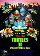Turtles II - Das Geheimnis des Ooze - Poster