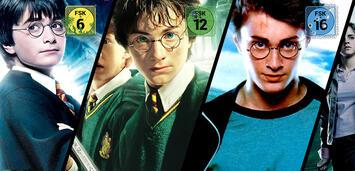 Bild zu:  Diverse Harry Potter-Filme