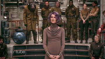 Laura Dern als Amilyn Holdo in Star Wars: Die letzten Jedi
