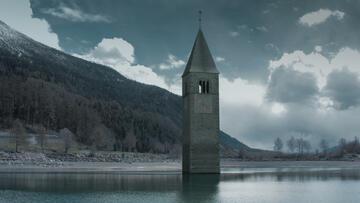 Il Lago di Resia nella serie Curon