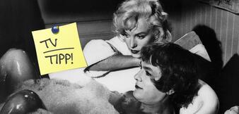 Marilyn Monroe in Manche mögen's heiß