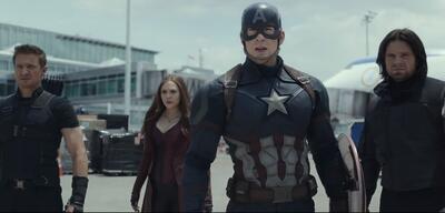 Das Team um Captain America