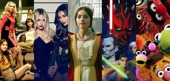 Good Girls Revolt/Pretty Little Liars/Victoria/Star Wars Rebels/The Muppets