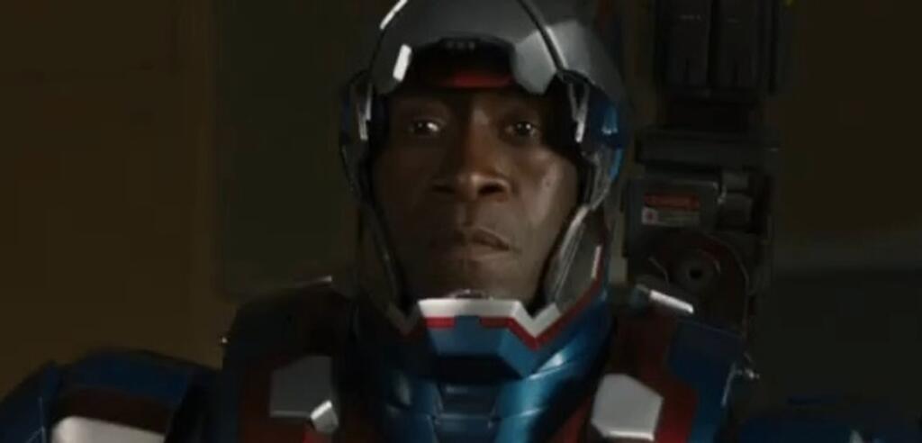 Don Cheadle als James 'Rhodey'Rhodes in Iron Man 3