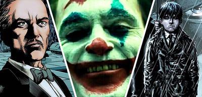 Alfred, Joker, Bruce