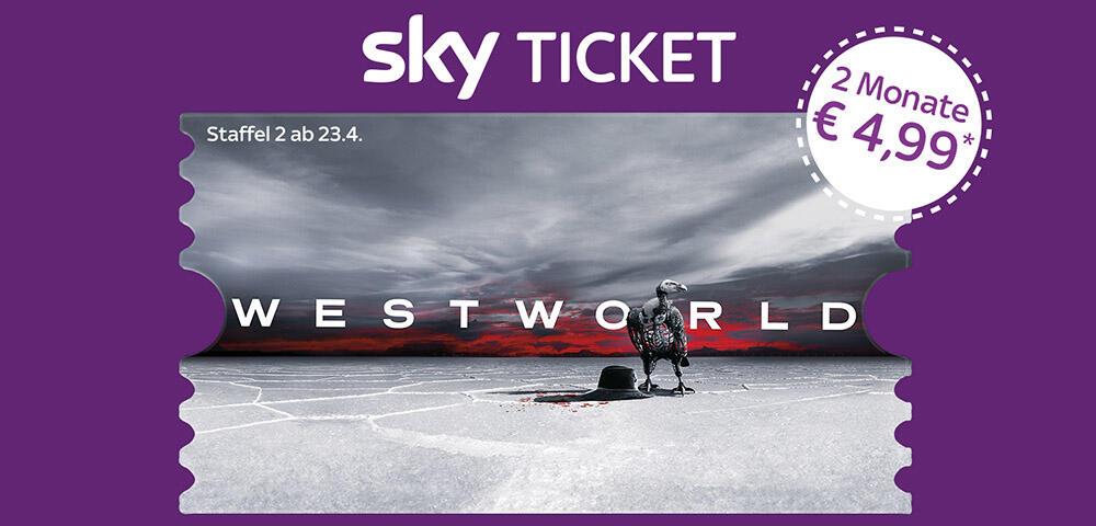 Westworld Sky Ticket