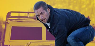 Paul Walker inFast & Furious 7
