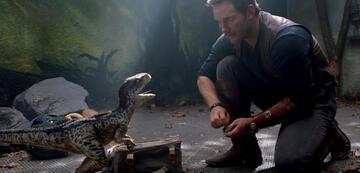 Chris Pratt (rechts)