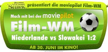 Bild zu:  Shrek präsentiert Film-WM Niederlande vs. Slowakei
