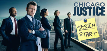 Bild zu:  Chicago Justice startet heute Abend auf NBC