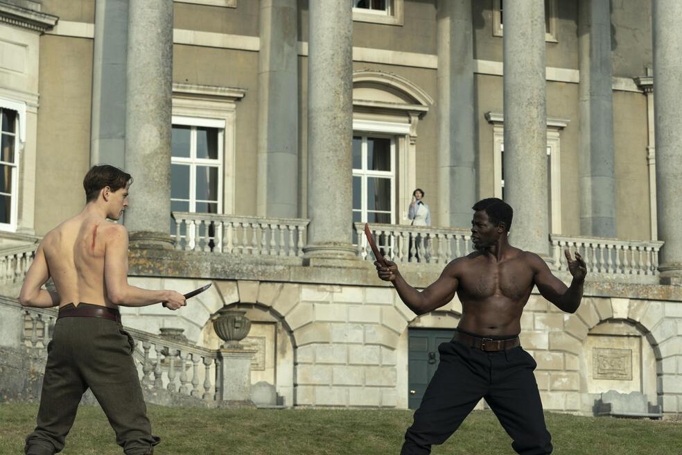 The King's Man - The Beginning mit Djimon Hounsou und Harris Dickinson