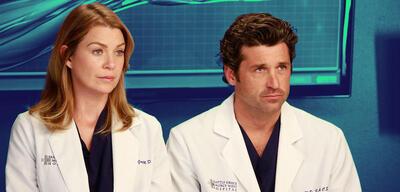 Ellen Pompeo und Patrick Dempsey in Grey's Anatomy