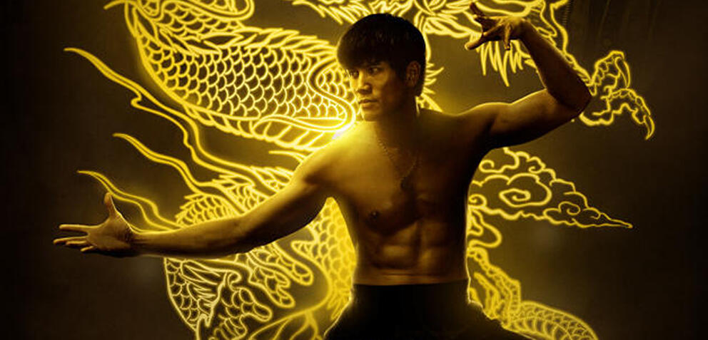 Philip Ng als Bruce Lee in Birth of the Dragon