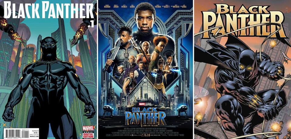 Black Panther - Auf diesen Comics basiert der Marvel-Film News ...