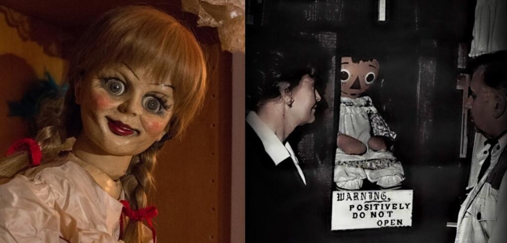 Annabelle im Film und die reale Vorlage