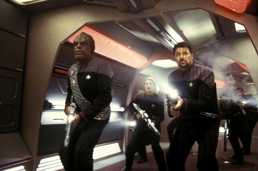 Star Trek - Nemesis mit Jonathan Frakes und Michael Dorn