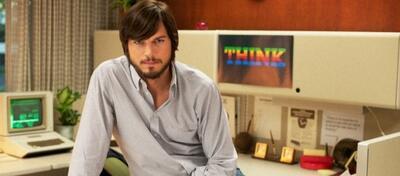 Ashton Kutcher ist Steve Jobs