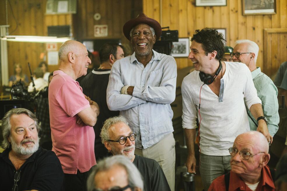Abgang mit Stil mit Morgan Freeman, Zach Braff und Alan Arkin