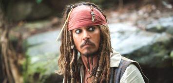 Bild zu:  Johnny Depp in der Fluch der Karibik-Reihe