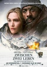 Zwischen zwei Leben - The Mountain Between Us - Poster