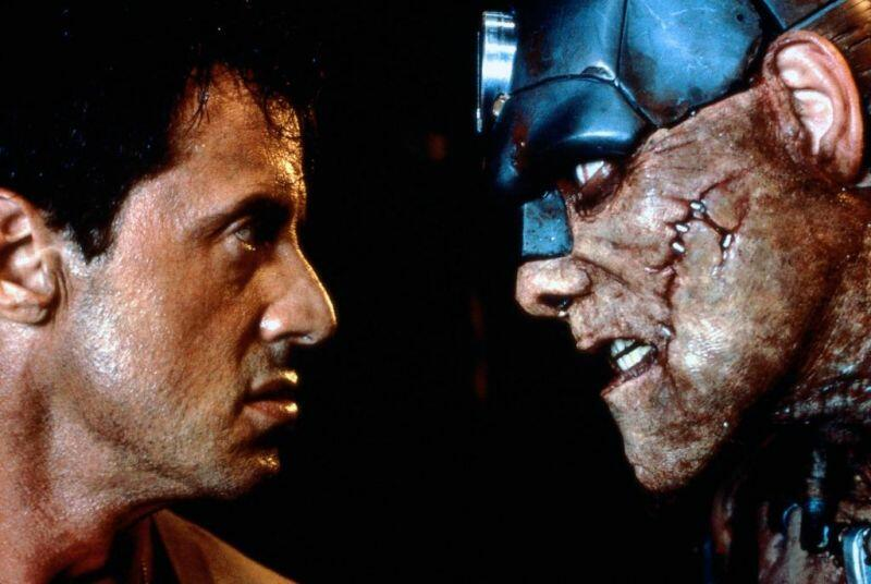 Judge Dredd mit Sylvester Stallone