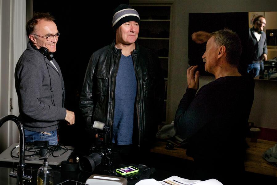 T2 Trainspotting mit Danny Boyle, Robert Carlyle und Irvine Welsh