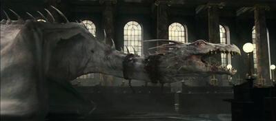 Drache in Harry Potter 7
