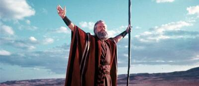 Die zehn Gebote mit Charlton Heston
