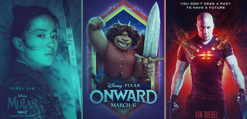 Mulan / Onward /Bloodshot