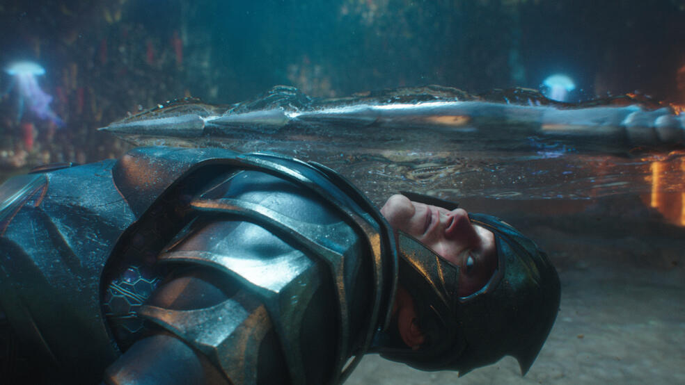Aquaman mit Patrick Wilson