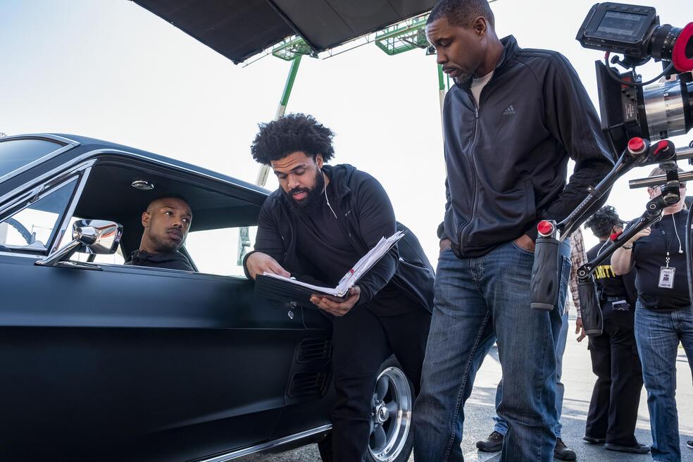 Creed II mit Michael B. Jordan und Steven Caple Jr.