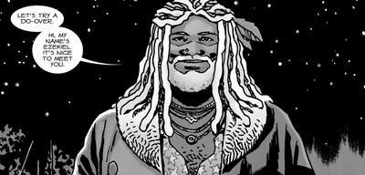 Ezekiel aus The Walking Dead