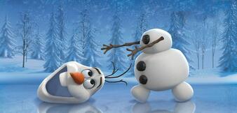 Schneeman Olaf in Frozen