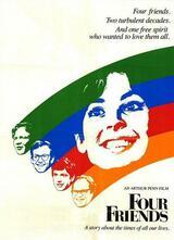 Vier Freunde - Poster