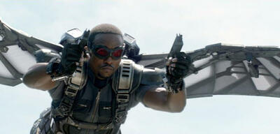 Anthony Mackie in Captain America 2
