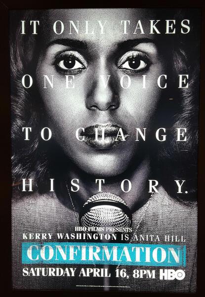 Confirmation mit Kerry Washington