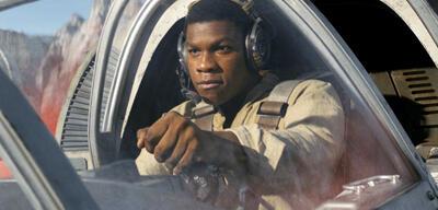 John Boyega in Star Wars 8